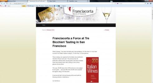 tre bicchieri a san francisco